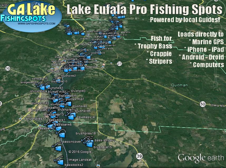 Lake eufaula lake eufaula ga for Alabama fishing laws